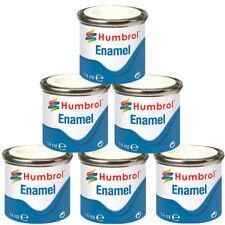 HUMBROL 6 x Enamel Model Paint 14ml - Choose your colours - Model Paints Tamiya