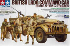 TAMIYA 1/35 British LRDG COMMAND CAR Nord Africa con 7 Figure # 32407