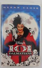 Disney 101 Dalmatians (VHS, 1997, Clam Shell) USED Clam-Shell Case