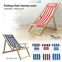 Chairs Cover Replacement Canvas Seat Deck Covers Set Outdoor Garden Casual