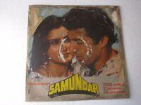 Samundar R D BURMAN Hindi Bollywood LP Record India-1540