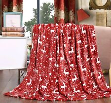 "Velvet Touch Holiday Throw Fleece Blanket (50"" x 60"")"