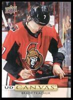 2019-20 Upper Deck UD Canvas #C15 Brady Tkachuk - Ottawa Senators