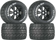 NEW Duratrax Bandtio MT Tires / Wheels 4 E-Maxx Revo 3.3 Savage X / Flux