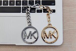 Michael Kors Gold Keying / Bag Charm - Gold/Silver