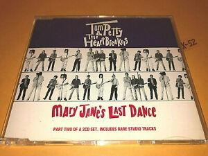 TOM PETTY single MARY JANE'S LAST DANCE 4 track CD casa dega gator on lawn down