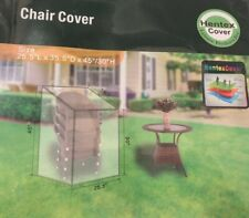 Hentex Outdoor Patio Furniture Water Resistant Stackable / Stacking Chair Cover