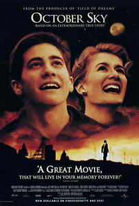 """OCTOBER SKY Movie Poster [Licensed-NEW-USA] 27x40"""" Theater Size Gyllenhaal"""