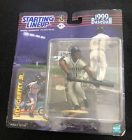 1999 Starting Lineup KEN GRIFFEY JR MLB Seattle Mariners Card SLU New Sealed