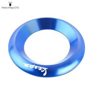 Vespa Ignition Ring Covers Blue Vespa GTS GTV LX PX 125 200 250 300