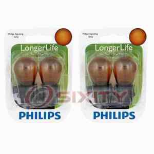 2 pc Philips Rear Turn Signal Light Bulbs for Jeep Compass Liberty 2005-2013 us