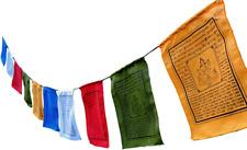 "Small Green Tara Tibetan Prayer Flags with English Translation (6""X8"")"