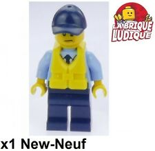 Lego - Figurine Minifig Police City officer officier 60129 60126 cty644 NEUF