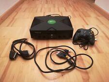 Xbox classic inkl. Controller und allen Kabeln, Microsoft