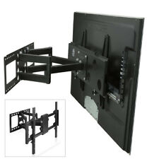 Heavy Duty Full Motion TV Mount Bracket Dual Articulating Arms Bear for 32-85""