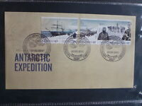 AUSTRALIA 2012 CENT AAT EXPEDITION SET 5 STAMPS CASEY FDC FIRST DAY COVER