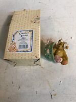 Cherished Teddies 103667 Margaret A Cup Full Of Love New In Box