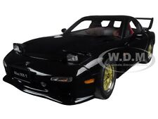 MAZDA RX-7 (FD) TUNED VERSION BRILLIANT BLACK 1:18 DIECAST CAR BY AUTOART 75968
