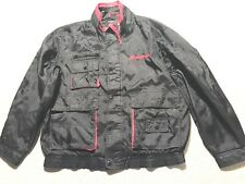 Snap-On tool jacket coat Official Nylon snapon size L work full zip zipper #K7