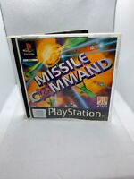 Missile Command - PS1 - Complete With Instructions