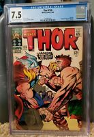 THOR #126 Marvel Comics 1966 CGC 7.5 Formerly Journey into Mystery ( 1st Issue )