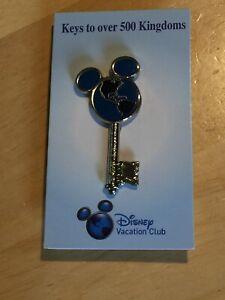 New Disney Vacation Club KEY Pin.  KEYS to Over 509 Kingdoms