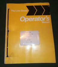 INTERNATIONAL PAYLINE 240A LOADER OPERATOR OPERATION & MAINTENANCE MANUAL BOOK