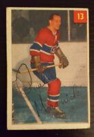 1954-55 Parkhurst Hockey #13 Paul Masnick Montreal Canadiens
