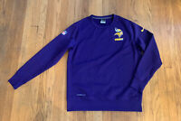 Minnesota Vikings Nike On Field Therma Fit Pullover Mens L EUC