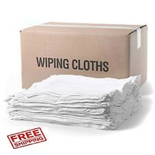 5.5 Lb. BOX NEW COTTON TERRY CLOTH CLEANING TOWEL / RAGS 14 X 17 JUMBO BOX