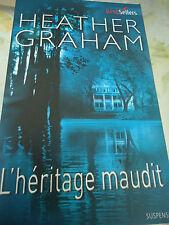 BEST SELLERS HARLEQUIN n° 395  - HEATHER GRAHAM - L'HERITAGE MAUDIT