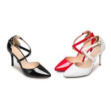 Women Pumps Slim High Heel Buckle  Formal Pointy Toe Heels Popular Shoes NDX0155