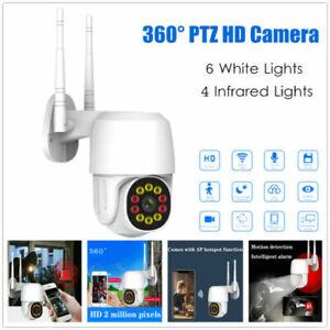 PTZ Camera 1080P WIFI IP Wireless Outdoor HD PTZ Smart Home Security IR Web Cam