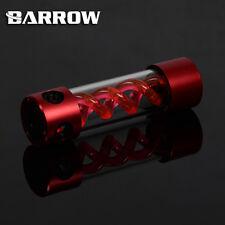 Barrow LEGA CILINDRO T-Virus ROSSO SPIRALE sospensione TANK SERBATOIO 205mm