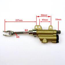 Hydraulic Rear Disc Brake Master Cylinder 110-150cc Dirt PIT Trail Bike 10mm