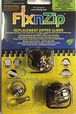 Three Piece Zip Slider Repair-Small, Med, Large