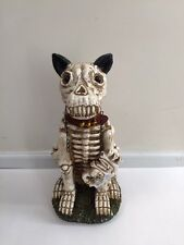 Spooky Skeleton Dog Scary Welcome Outdoor Display