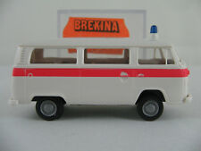 "Brekina 3310 VW T2b Kombi (1972) ""POLIZIA (I)"" in weiß/rot 1:87/H0 NEU/OVP"