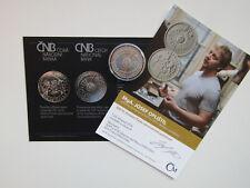 República Checa 2017 200 coronas moneda de plata St 100 años Sociedad Astronómica