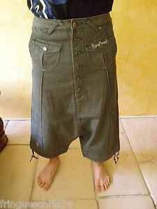 sarouel jeans femme KANABEACH hedi Taille 38 NEUF ÉTIQUETTE2 valeur 95 €