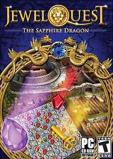 Jewel Quest: The Sapphire Dragon (PC, 2011) Free Ship