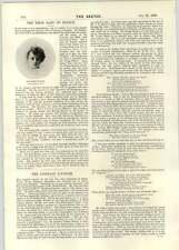 1896 il Premio Baby Frantz Miss ADA Reeve come Julie Bonbon