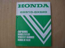 Werkstatthandbuch Shop manual de taller Honda GX 610 620 Industriemotor Kart `93