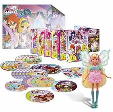 Winx Club – Staffel 1-6 Feen Special - inkl. Puppe [Limited Edition] [31 DVDs]