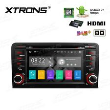 """AUTORADIO 7"""" ANDROID 7.1 16GB 2GB Audi A3 S3 RS3 2003-2013  DAB+ 3G TMPS wifi"""