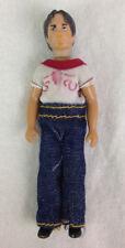"""Vintage 1981 Sergio Valente 4 1/4"""" Male Designer Fashion Doll Rare"""