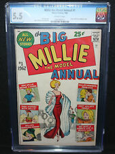 Millie The Model Annual 1 CGC 5.5 1st Marvel Annual Jan.1962, 7th Highest Graded
