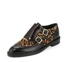 """NWT BURBERRY """"Sunningford"""" Calf-Hair Double-Monk Wingtip Loafers (SOLD OUT)"""