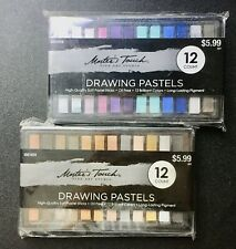 Master's Touch Drawing Pastels - Earthtones & Bright Sets