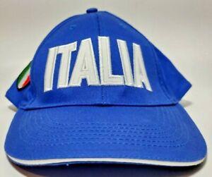 1994 World Cup Soccer Italia Blue & White Italian I-I&C Futbol Fab Style USA